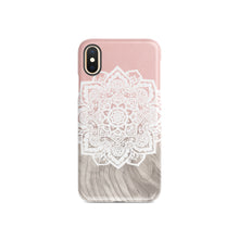 Load image into Gallery viewer, Beige Mandala Snap iPhone Case - bycsera