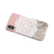 Load image into Gallery viewer, Beige Mandala Snap iPhone Case,CSERA