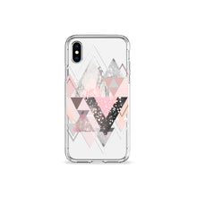 Load image into Gallery viewer, Marble Blush Clear iPhone Case,CSERA