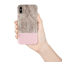 Load image into Gallery viewer, Venetian Pink Snap iPhone Case