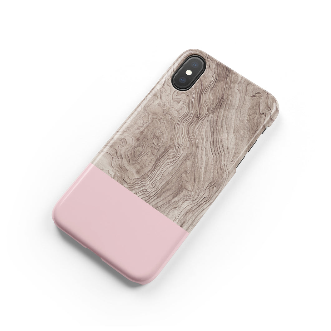 Venetian Pink Snap iPhone Case