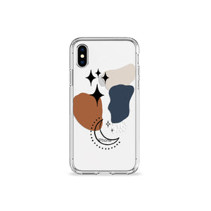 Hygge Moon Clear iPhone Case,CSERA