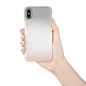 Ombre Concrete Snap iPhone Case