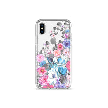 Load image into Gallery viewer, Eternity Blue Clear iPhone Case,CSERA