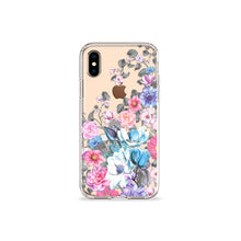 Load image into Gallery viewer, Eternity Blue Clear iPhone Case