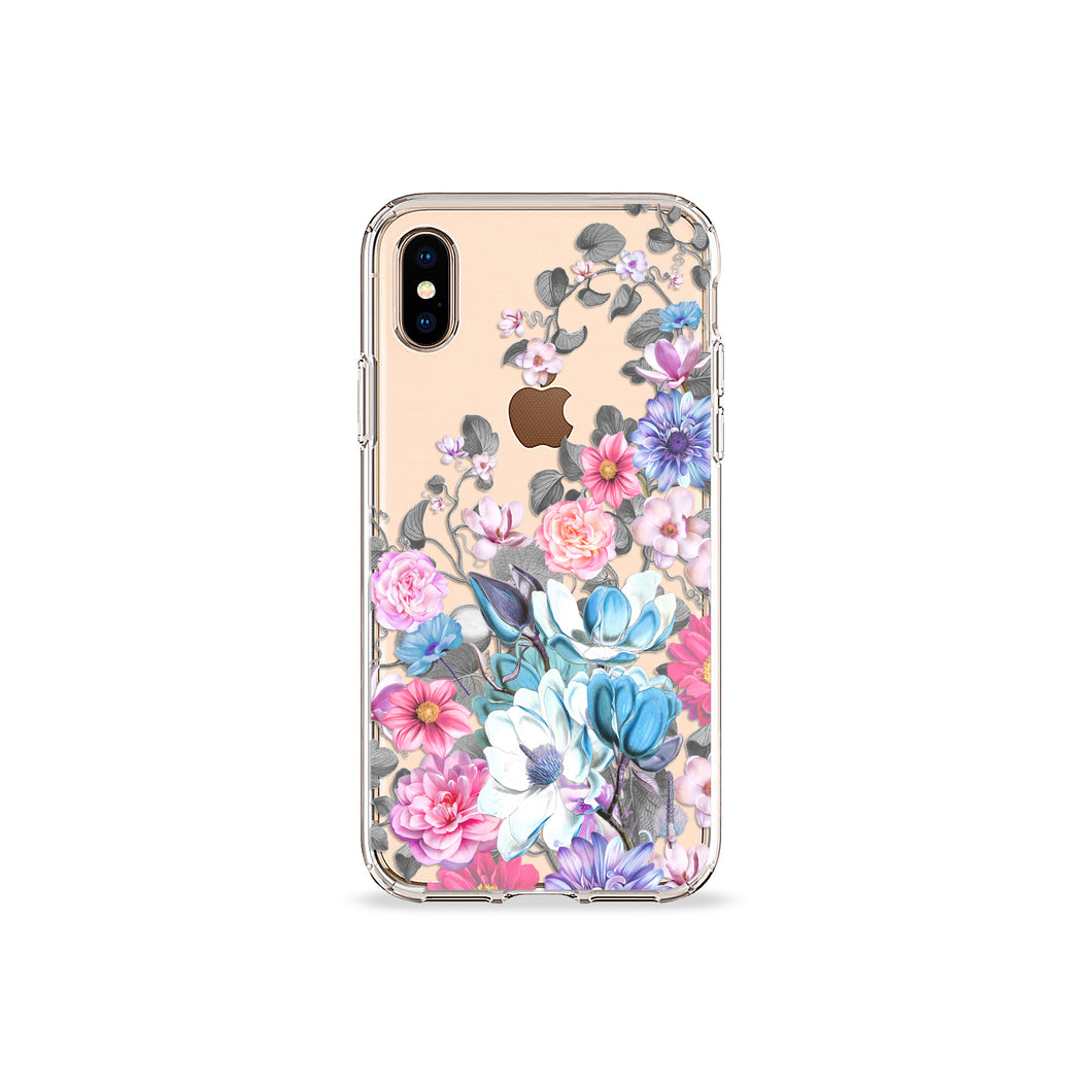 Eternity Blue Clear iPhone Case,CSERA