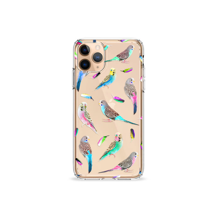 Budgie Clear iPhone Case