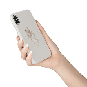 Flowers In Your Hands Snap iPhone Case,CSERA