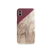 Load image into Gallery viewer, Maroon Snap iPhone Case - bycsera
