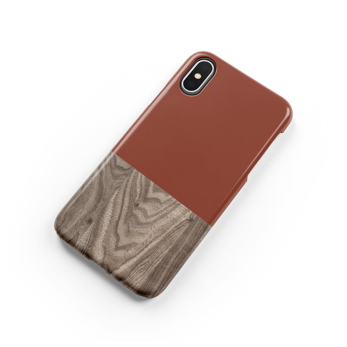 Burnt Orange Snap iPhone Case,CSERA