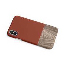 Load image into Gallery viewer, Burnt Orange Snap iPhone Case,CSERA