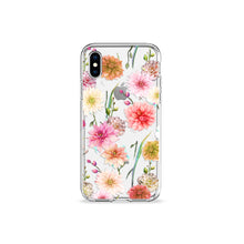 Load image into Gallery viewer, Full Bloom Clear iPhone Case - bycsera