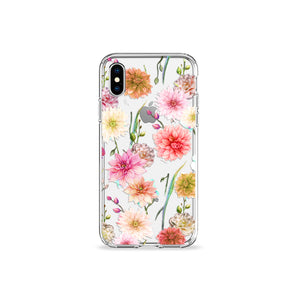 Full Bloom Clear iPhone Case - bycsera