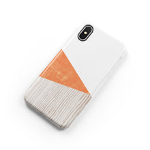 Load image into Gallery viewer, Tangelo Orange Snap iPhone Case
