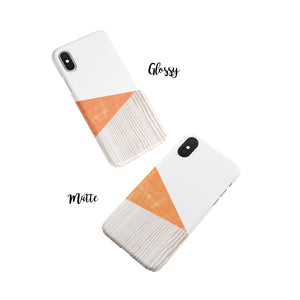 Tangelo Orange Snap iPhone Case
