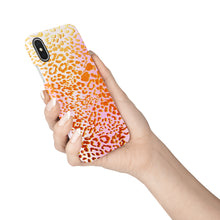 Load image into Gallery viewer, Apricot Leopard Snap iPhone Case - bycsera