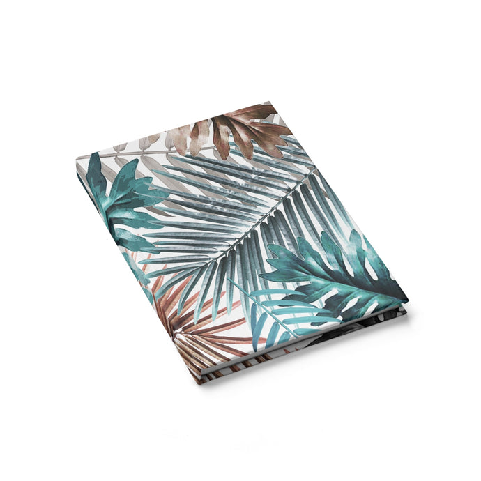 Palm Leaf Journal - Blank - bycsera