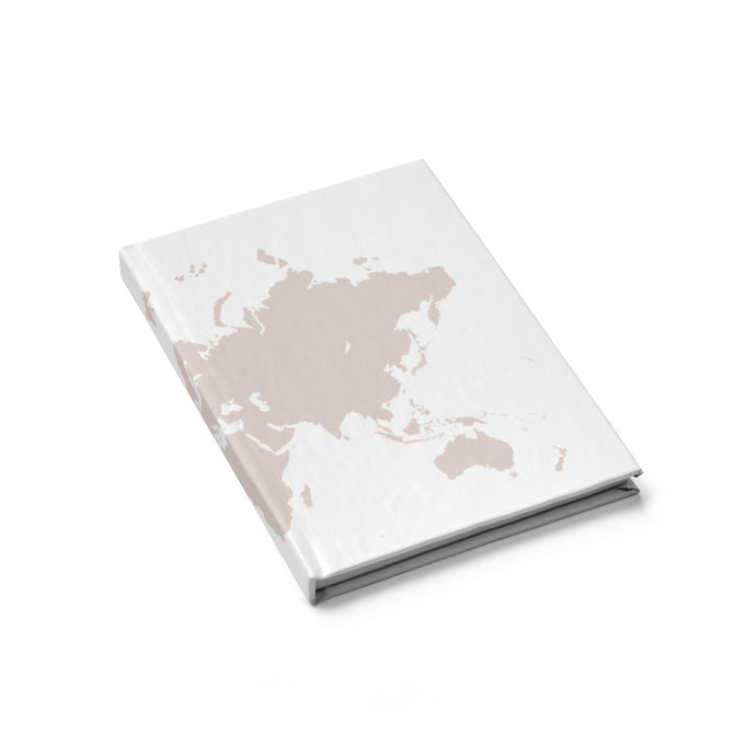 World Map Journal - Blank - bycsera
