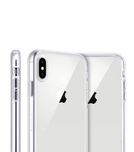 Load image into Gallery viewer, White Palms Clear iPhone Case