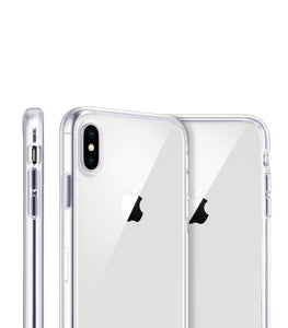 White Iso Clear iPhone Case - bycsera