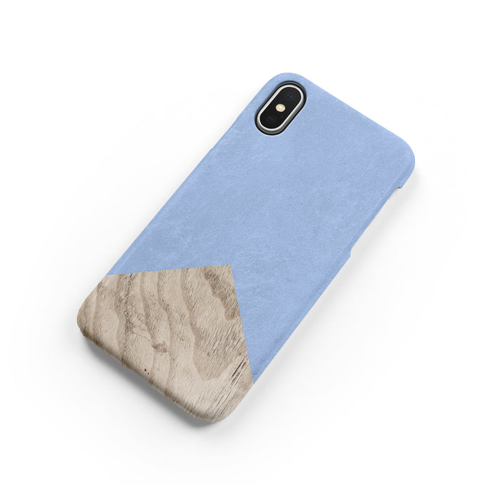 Clearwater Blue Wood Snap iPhone Case,CSERA
