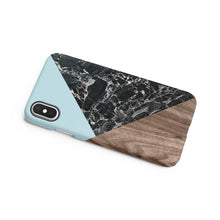 Load image into Gallery viewer, Raindrop Marble Snap iPhone Case,CSERA