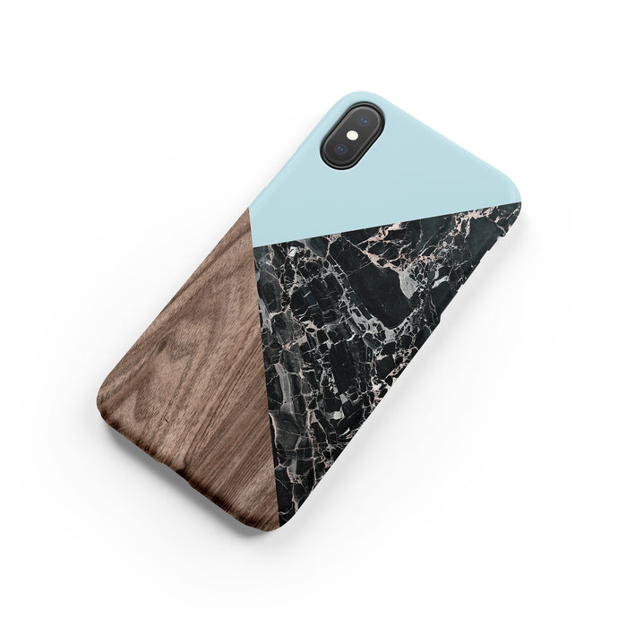 Raindrop Marble Snap iPhone Case - bycsera