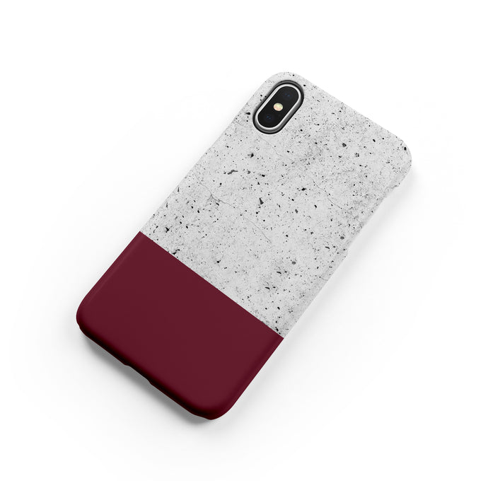 Garnet Snap iPhone Case - bycsera