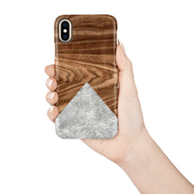 Load image into Gallery viewer, Walnut Snap iPhone Case