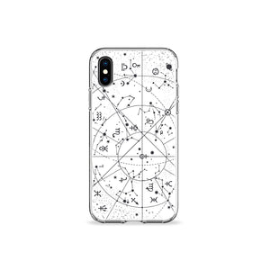 Constellations Clear iPhone Case