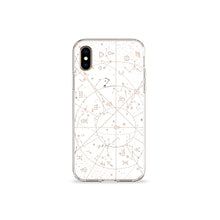 Load image into Gallery viewer, Constellations Clear iPhone Case - bycsera