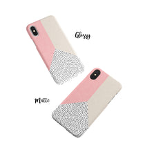 Load image into Gallery viewer, Coral Polka Snap iPhone Case - bycsera