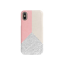 Load image into Gallery viewer, Coral Polka Snap iPhone Case,CSERA