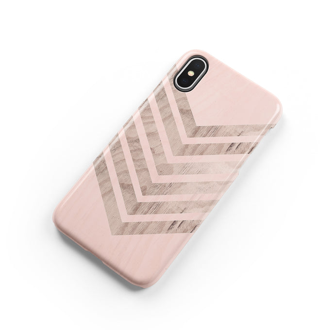 Biscuit Chevron iPhone Snap Case - bycsera