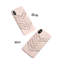 Load image into Gallery viewer, Biscuit Chevron iPhone Snap Case - bycsera