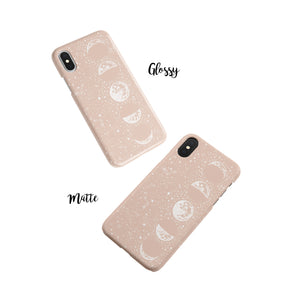 Taffy Pink Moon Snap iPhone Case,CSERA