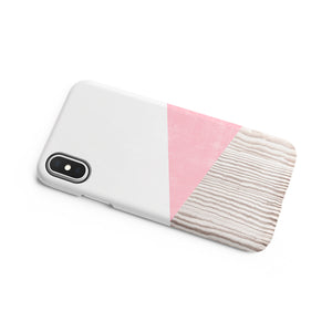 Crepe Pink Snap iPhone Case - bycsera