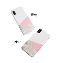 Load image into Gallery viewer, Crepe Pink Snap iPhone Case - bycsera