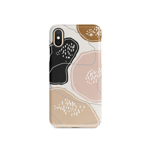 Cow Print Snap iPhone Case,CSERA