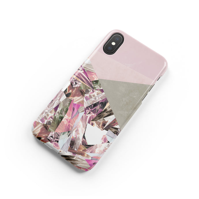 Rose Quartz Snap iPhone Case - bycsera
