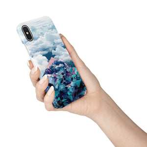 Crystal Clouds iPhone Snap Case - bycsera