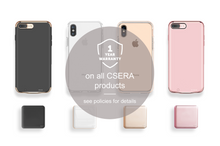 Load image into Gallery viewer, Rosa Aurora Marble Snap iPhone Case - bycsera