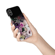 Load image into Gallery viewer, Dark Rose Snap iPhone Case - bycsera