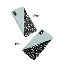 Load image into Gallery viewer, Duck Egg Terrazzo Snap iPhone Case - bycsera