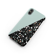 Load image into Gallery viewer, Duck Egg Terrazzo Snap iPhone Case,CSERA