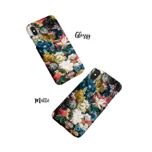 Load image into Gallery viewer, Dutch Floral iPhone Snap Case,CSERA