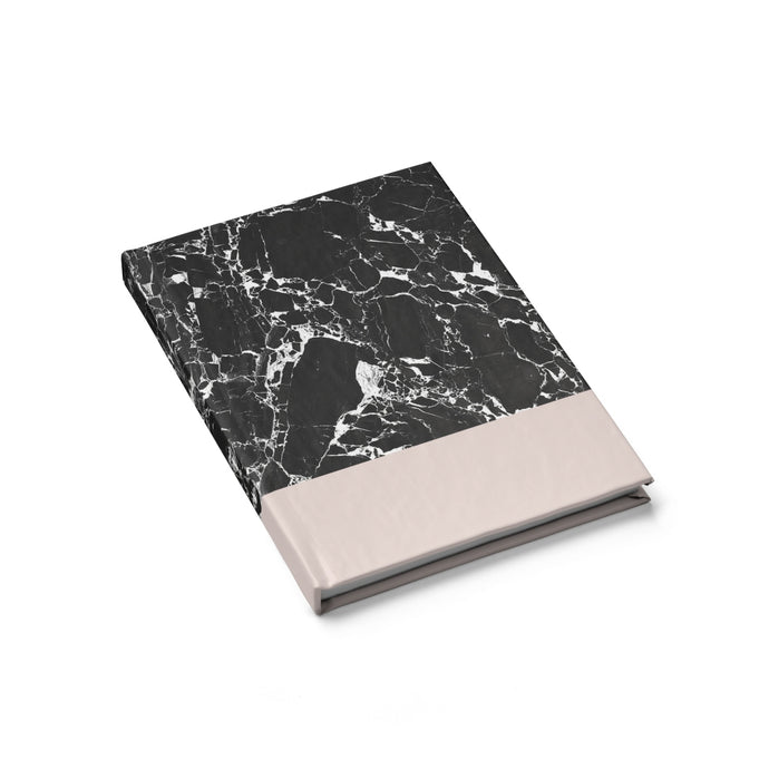 Black Marble Journal - Blank - bycsera