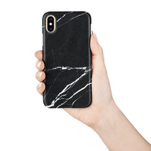 Load image into Gallery viewer, Ebony Marble Snap iPhone Case,CSERA