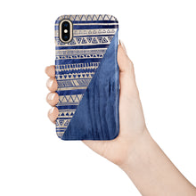 Load image into Gallery viewer, Eclipse Blue Snap iPhone Case,CSERA