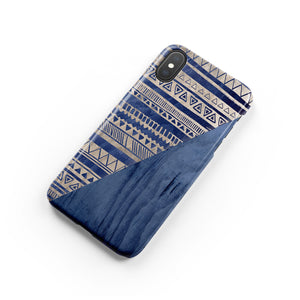 Eclipse Blue Snap iPhone Case